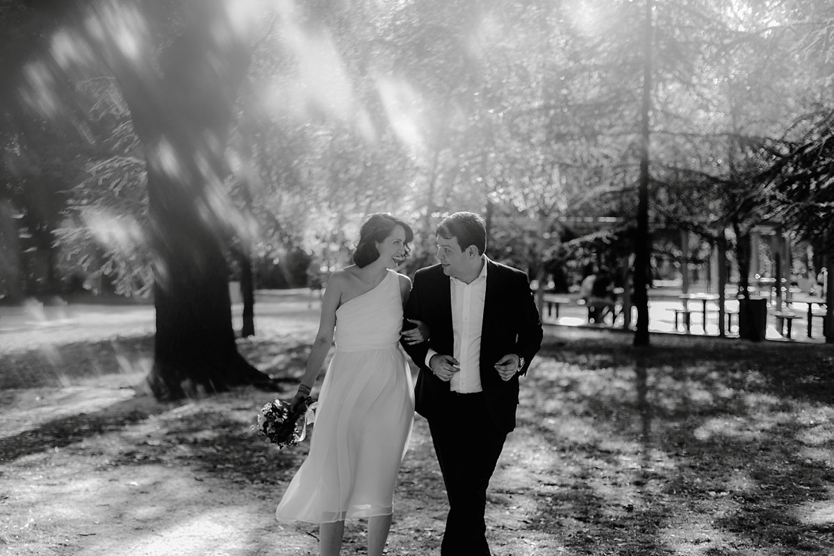 intimate belgrade wedding