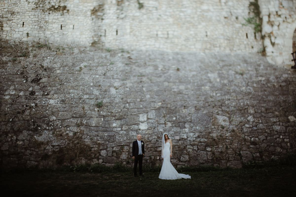 Belgrade fortress wedding