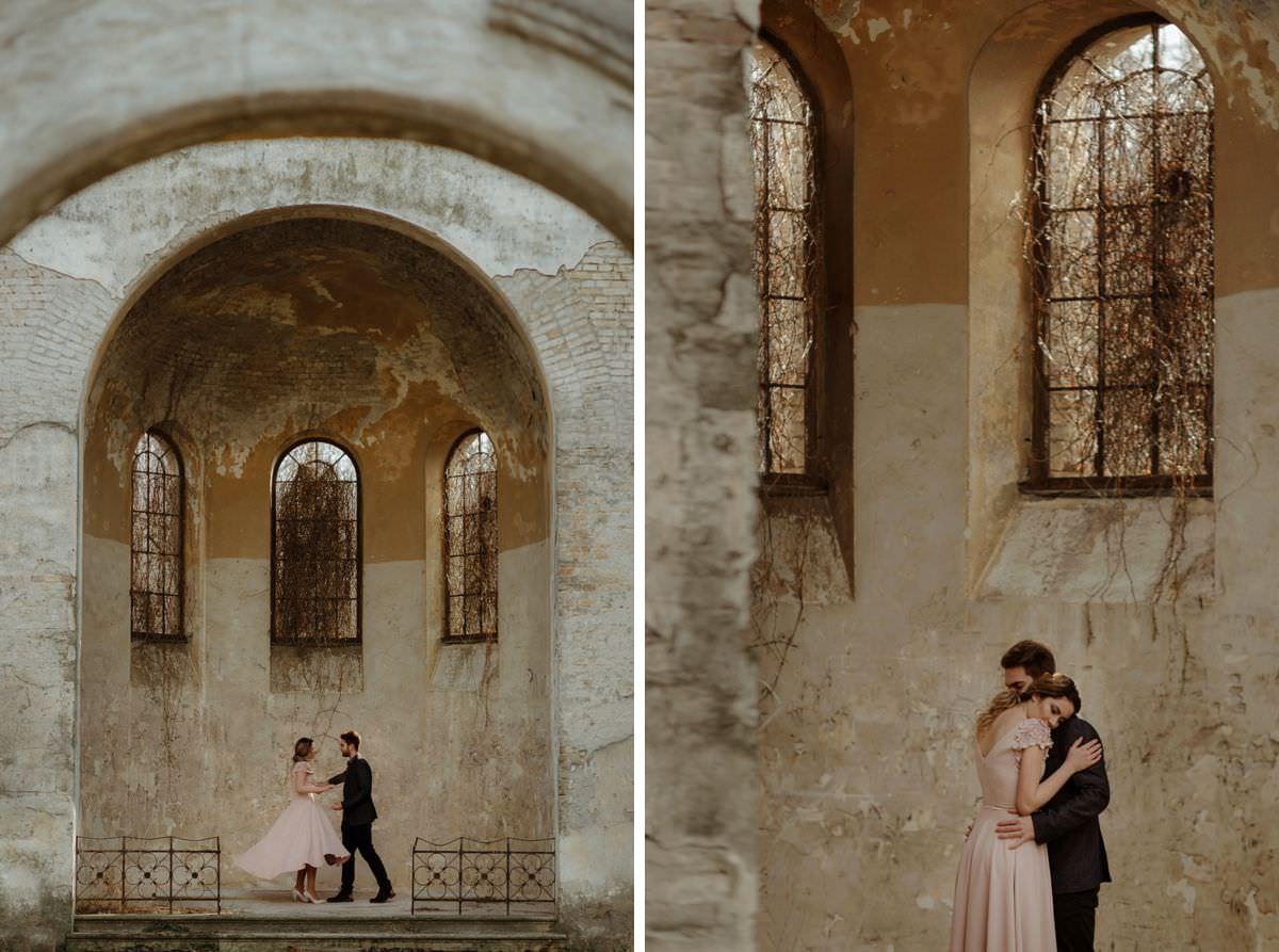 rustic wedding in France