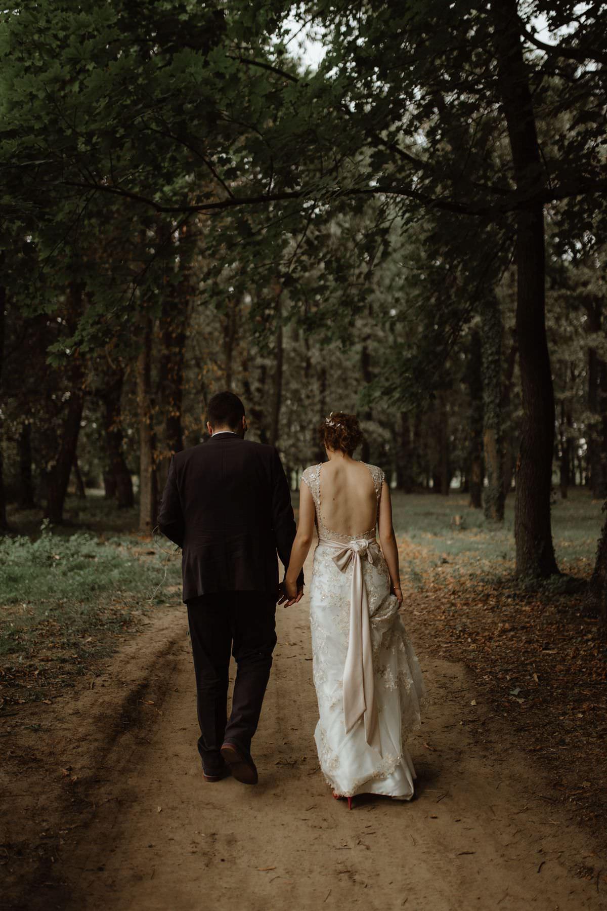 forest wedding Serbia