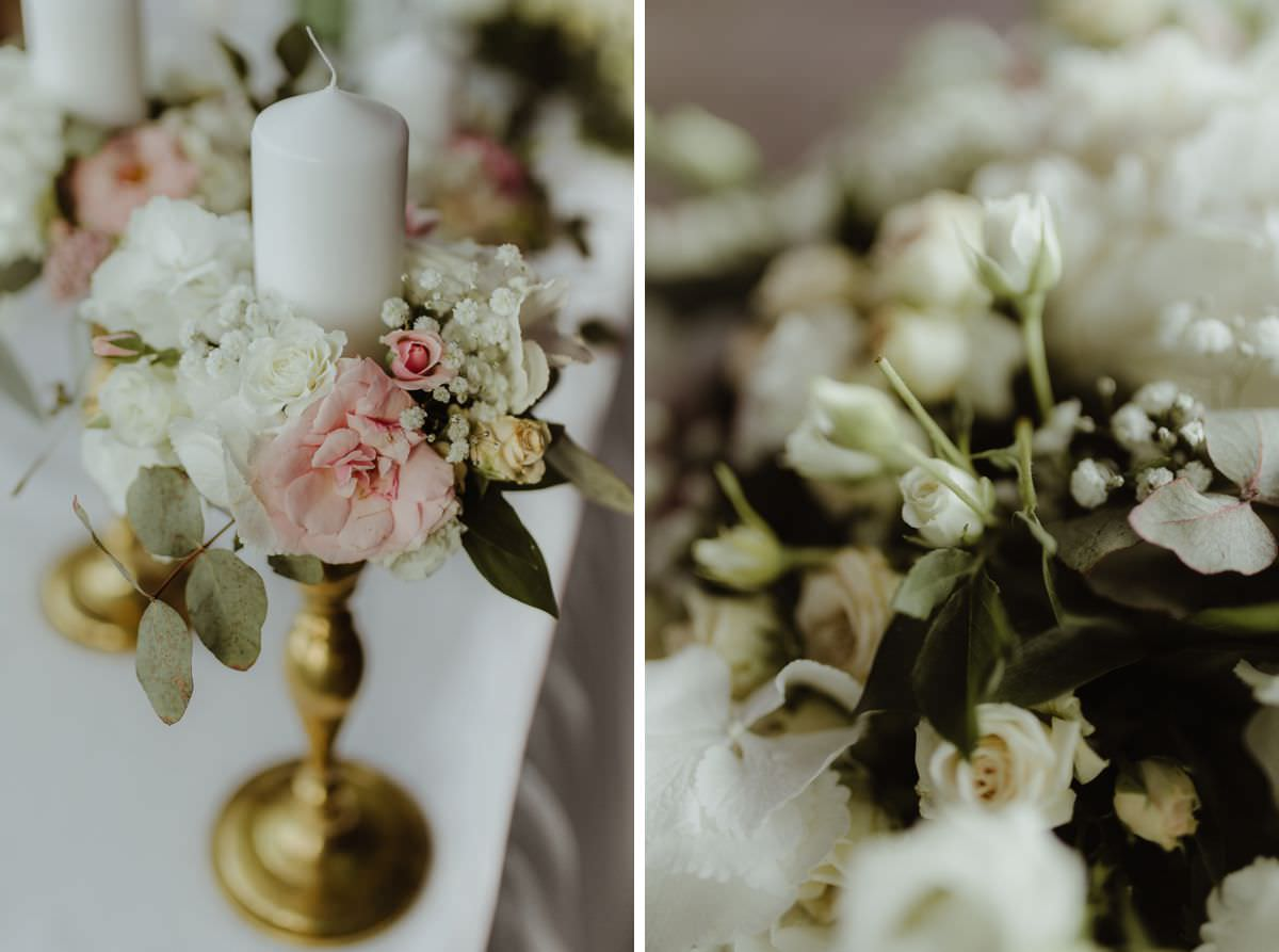 rustic gold wedding wedding decoration in Belgrade