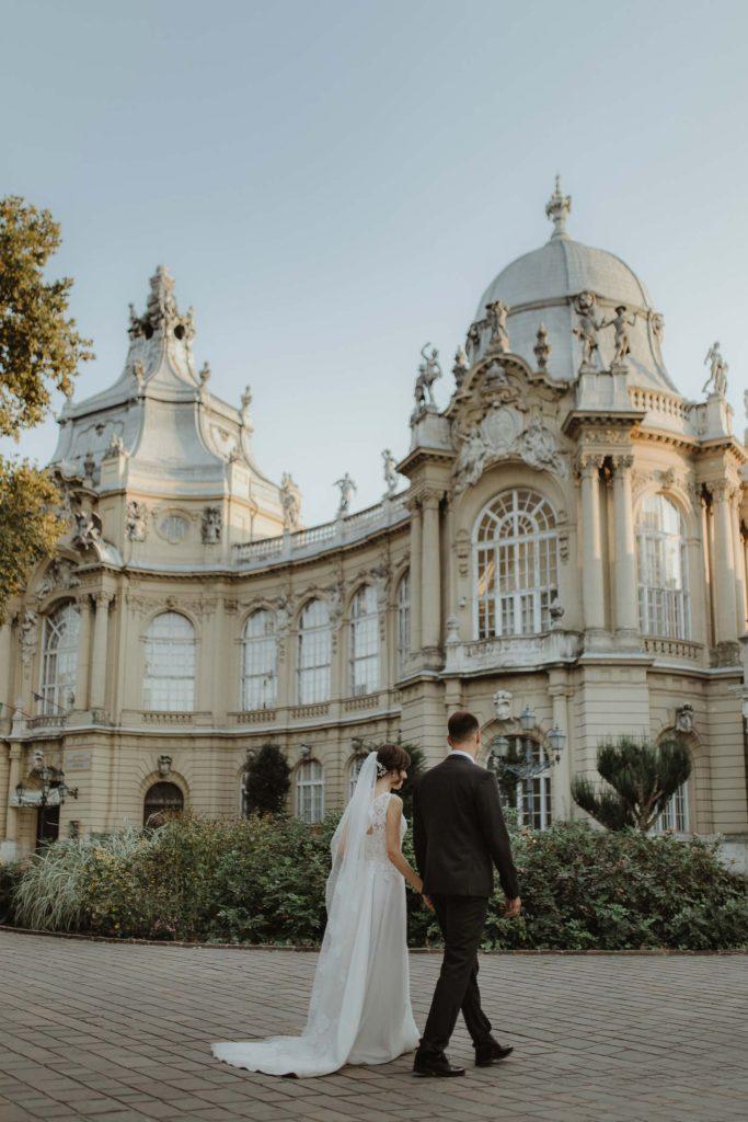 Vajdahunyad castle wedding Budapest