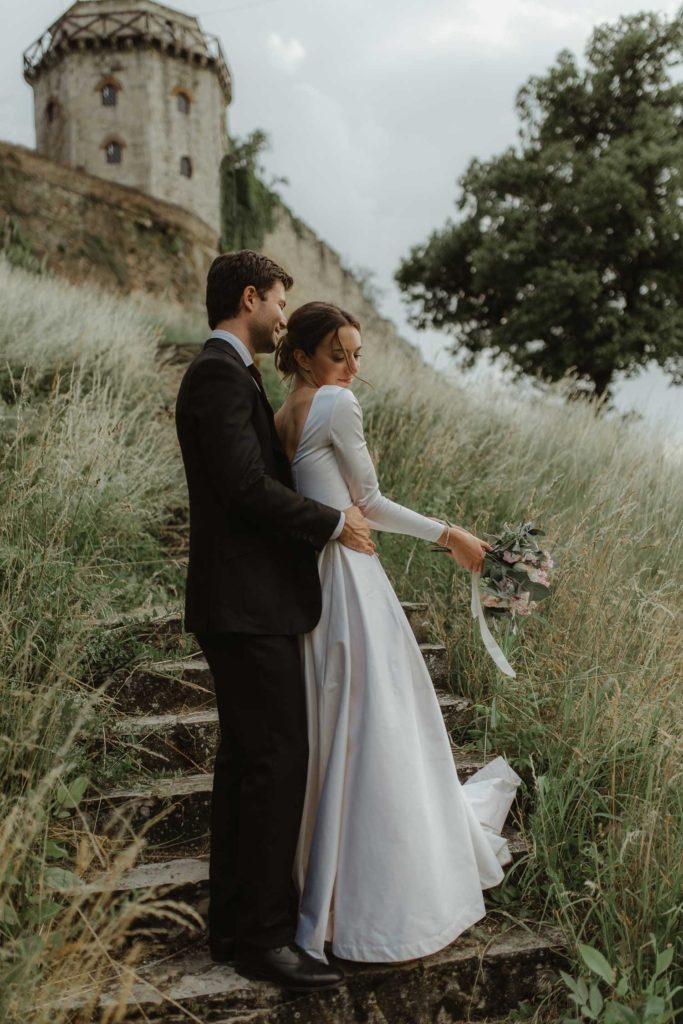 Intimate Kalemegdan wedding Belgrade
