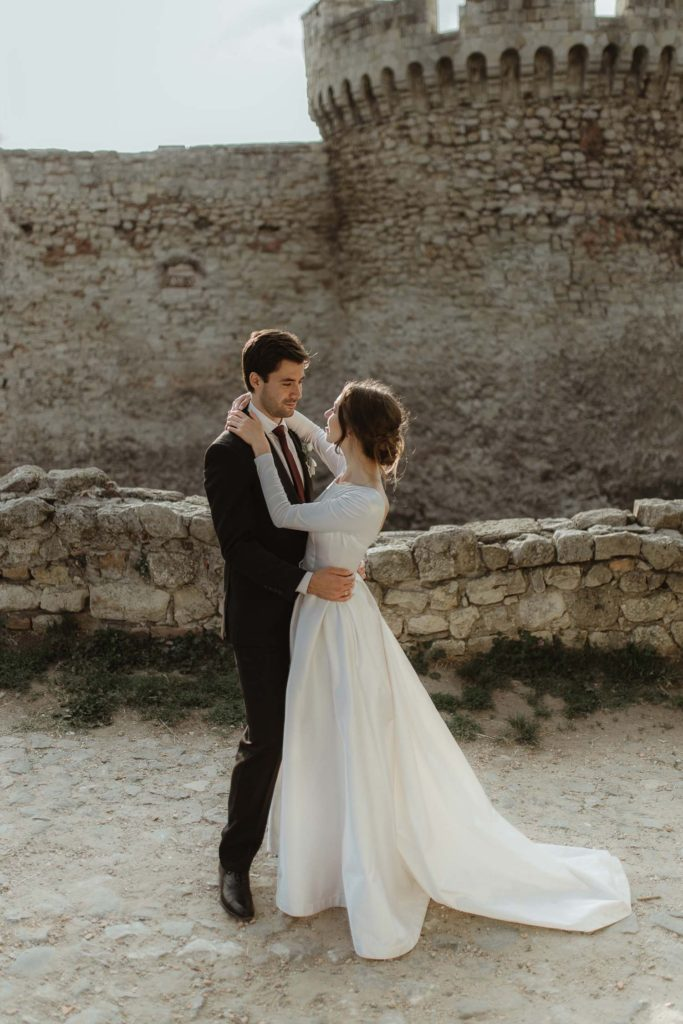 Central Europe castle destination wedding