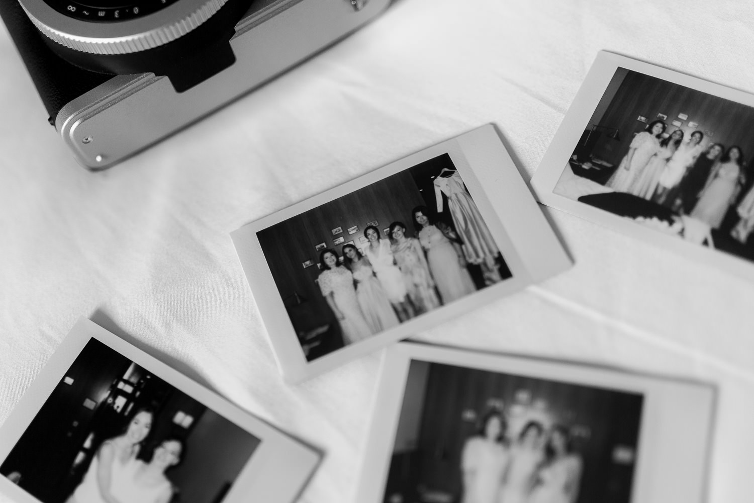 Polaroid camera for the wedding